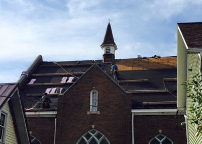 local church roofing