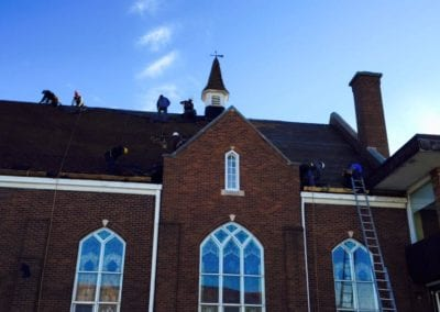 roofing services in church