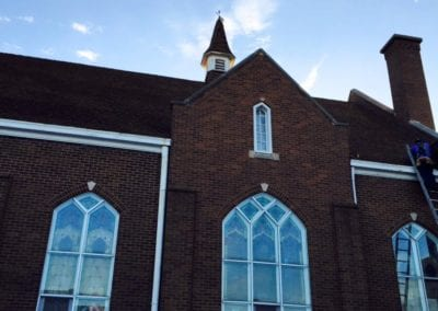 church roofing works