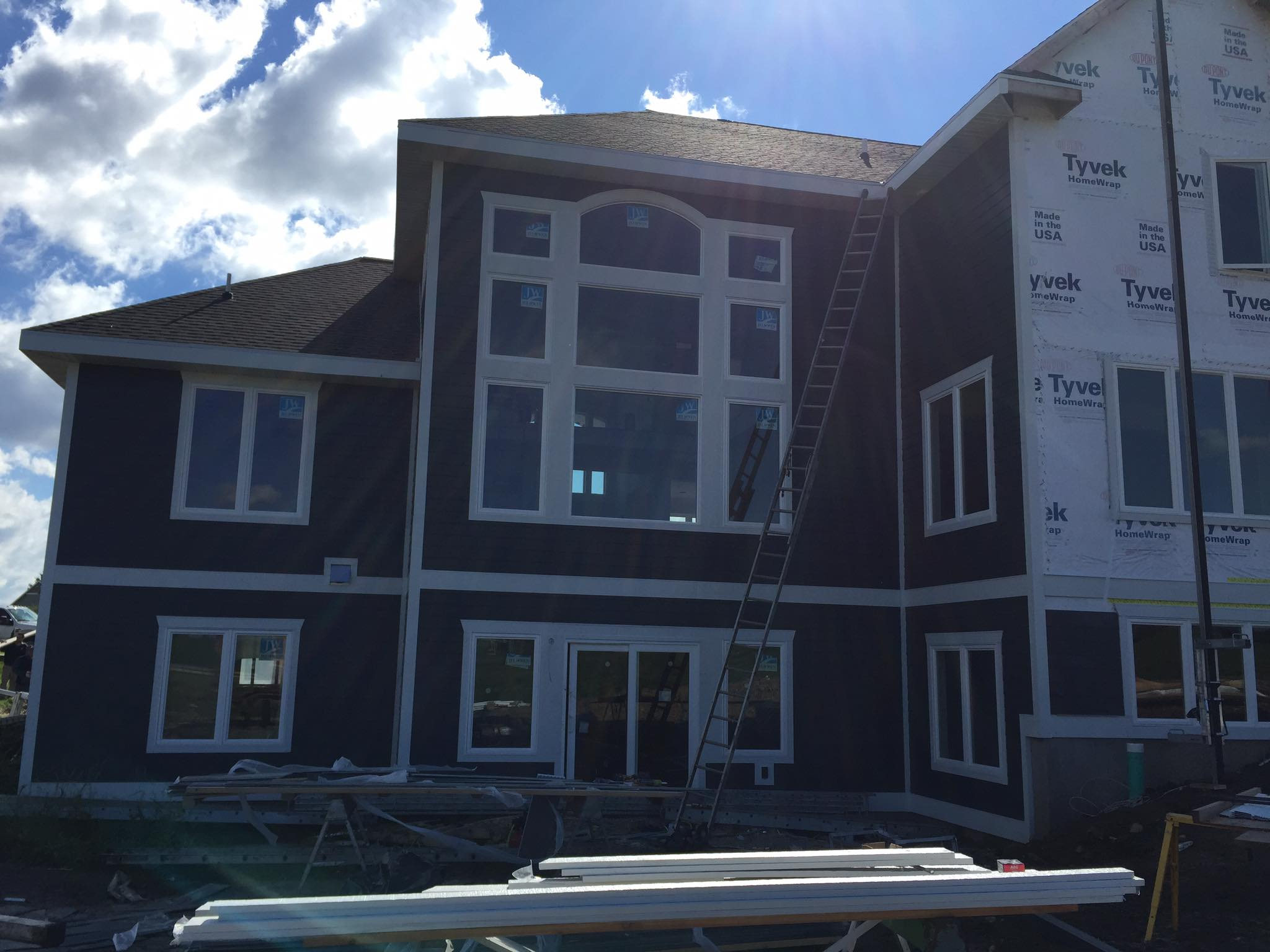 Residential siding Job | Henis Contracting Madison WI