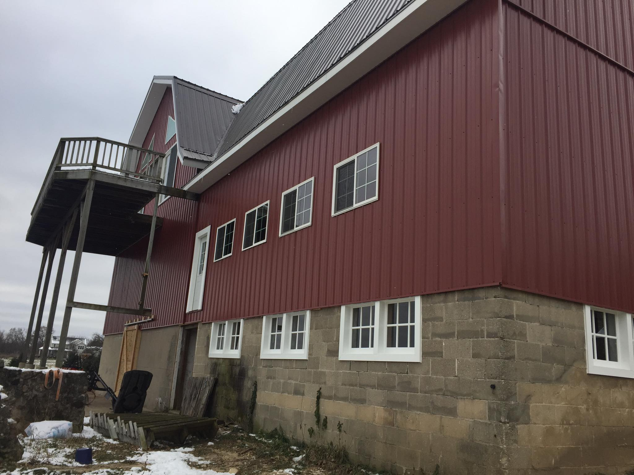 Our Project Barns Siding Amp Roofing Heins Contracting
