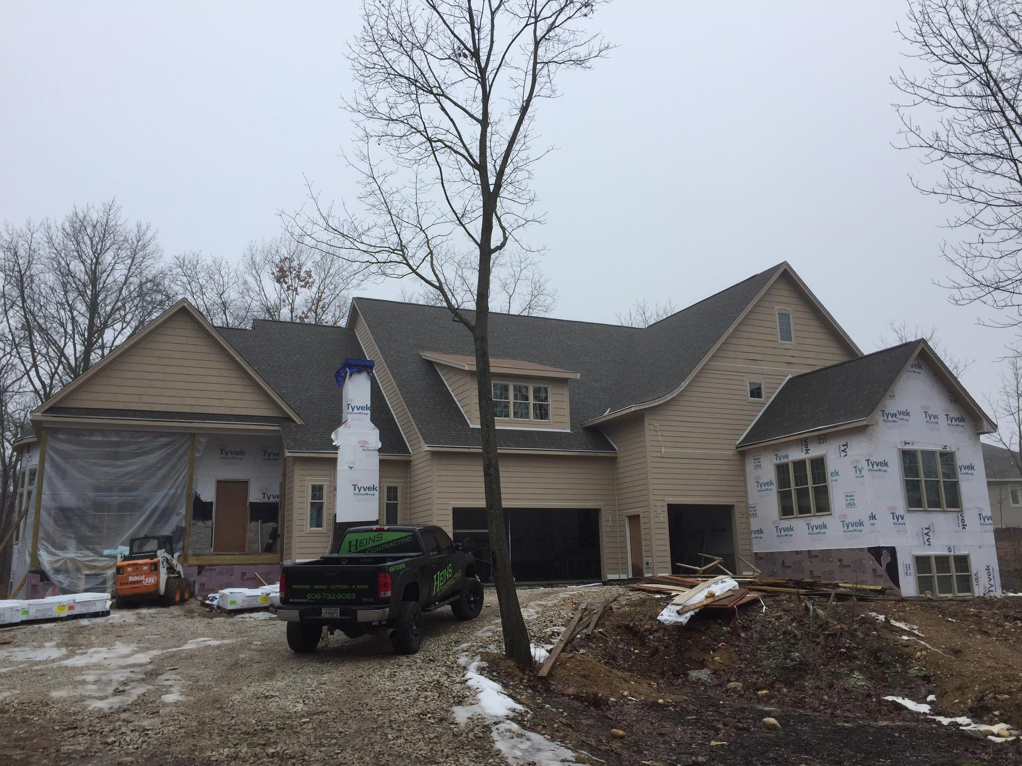residential siding project