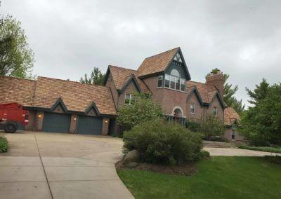 New Residential Cedar Shingle Roof