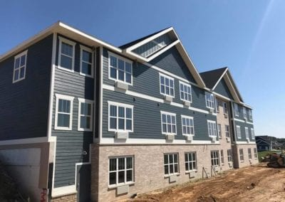 Apartment siding | commerical roofing and siding madison wi | Heins Contracting