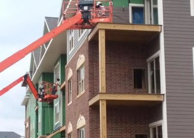 Apartment siding | commerical siding madison wi | Heins Contracting-1