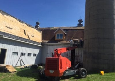 metal Barn roofing waukasa WI | Henis Contracting Madison WI